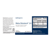 Meta-Sitosterol™ 2.0 <br>Plant Sterol Complex for Support of Healthy Cholesterol Levels*