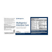 Multigenics® Intensive Care <br>Advanced Nutritional Support Designed for Optimal Health*