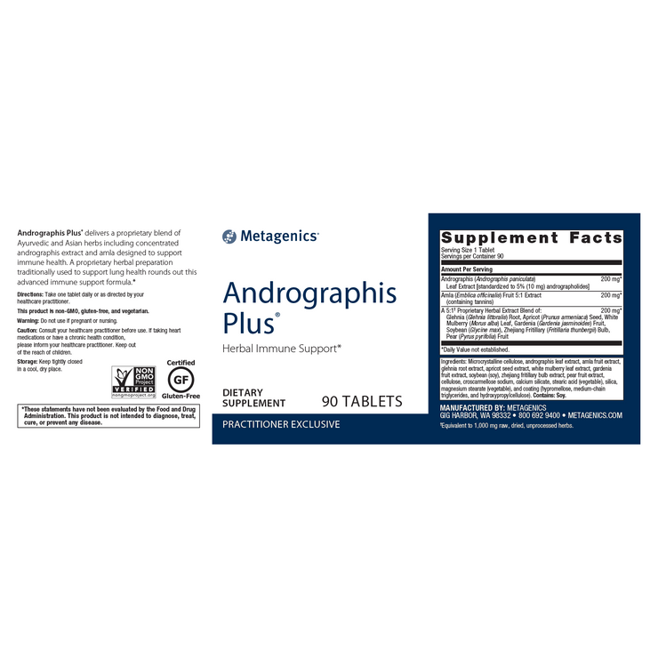 Andrographis Plus® <br>Herbal Immune Support