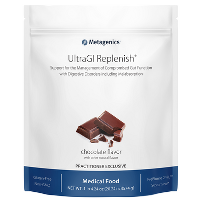 UltraGI Replenish® <br>Support for the Management of Compromised Gut Function with Digestive Disorders including Malabsorption