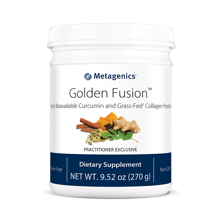 Golden Fusion™ <br>Highly Bioavailable Curcumin and Grass-Fed† Collagen Peptides