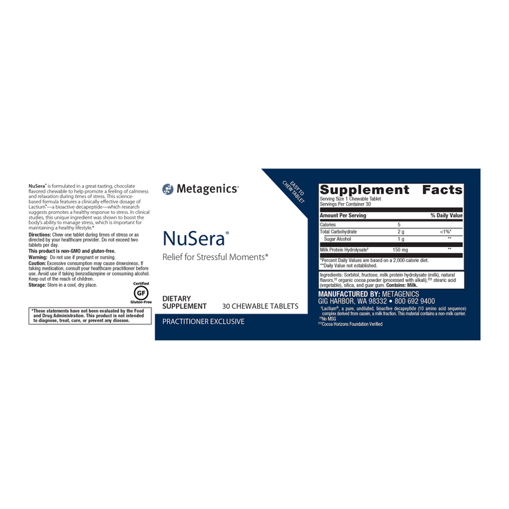 NuSera® <br>Relief for Stressful Moments*
