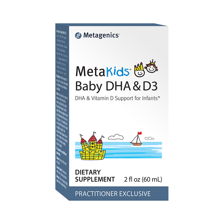 MetaKids® Baby DHA & D3 <br>DHA & Vitamin D Support for Infants*
