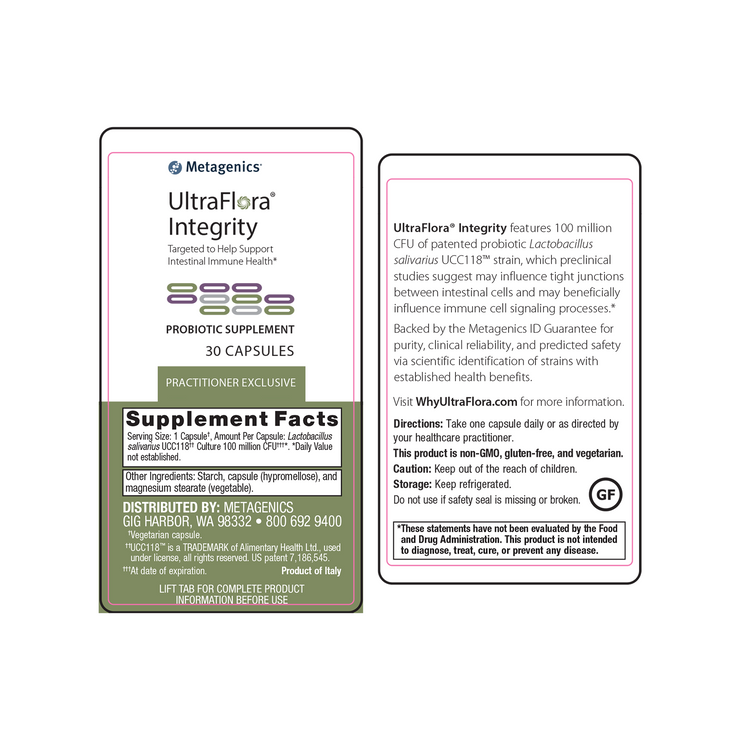 UltraFlora® Integrity <br>Targeted to Help Support Intestinal Immune Health*