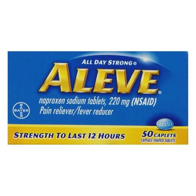 Aleve All Day Strong Pain Reliever And Fever Reducer