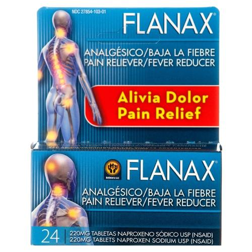 Flanax Pain Reliever And Fever Reducer