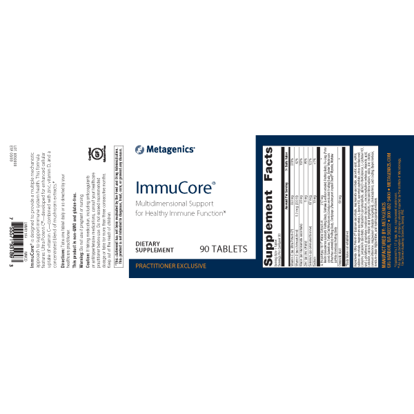ImmuCore® <br>Multidimensional Support for Healthy Immune Function*