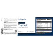 Thyrosol® Capsules <br>Thyroid Support Formula*