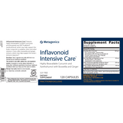 Inflavonoid Intensive Care® <br>Highly Bioavailable Curcumin and Xanthohumol with Boswellia and Ginger