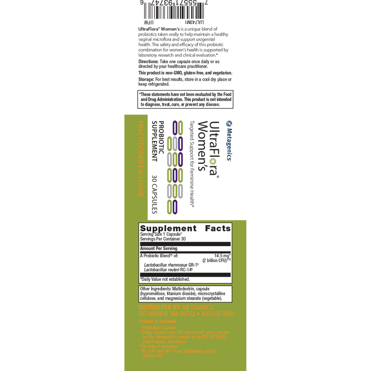 UltraFlora® Women's <br>Targeted Support for Feminine Health*