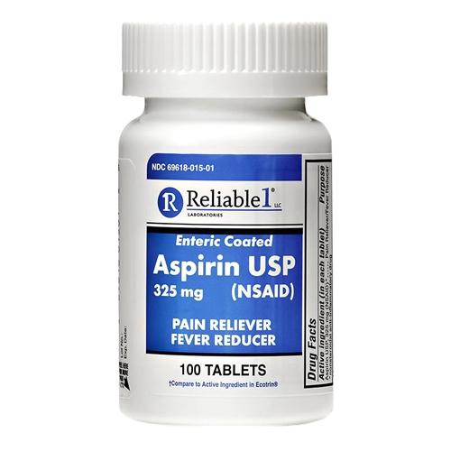 Reliable 1 Aspirin USP