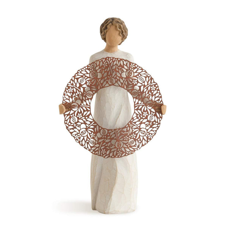 Willow Tree Welcome Here, Sculpted Hand-Painted Figure