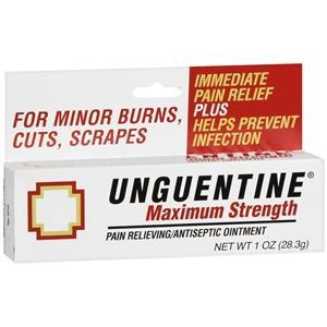 Unguentine Maximum Strength Pain Relieving Antiseptic Ointment