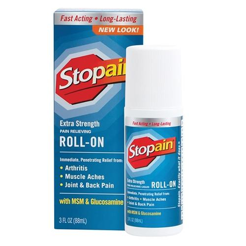 Stopain Extra Strength Pain Releving Roll-On With Msm And Glucosamine