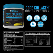 Clean Collagen Powder Bovine Peptides (16oz)