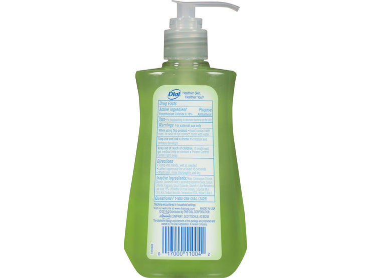 Dial Antibacterial Liquid Hand Soap, Aloe, 7.5 Fluid Ounces