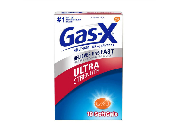 Gas-X Ultra Strength Gas Relief Softgels - 18 ct