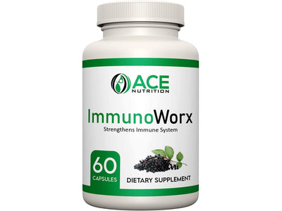 ImmunoWorx Immune Support Supplement 60 Capsules
