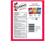 Luden's Wild Cherry Throat Drops - 30 Drops