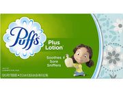 Puffs Plus Lotion 124 2-Ply Tissues