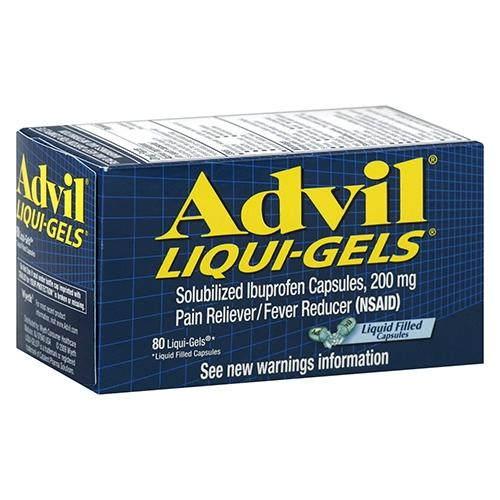 Advil Advanced Medicine For Pain And Fever Reducer Liqui-Gels