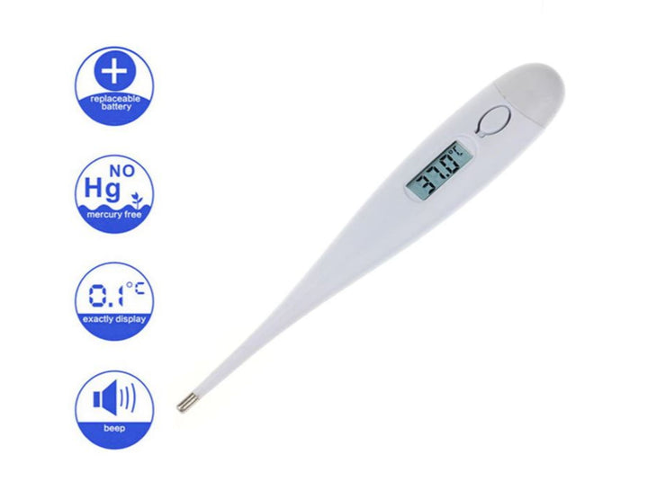 Digital Oral Thermometer Adult and Children (CELSIUS READING ONLY)