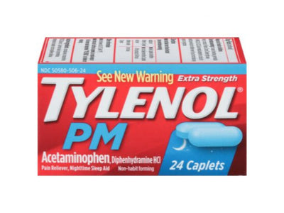 Tylenol PM Extra Strength - Acetaminophen 500 mg with Diphenhydramine HCl 25 mg