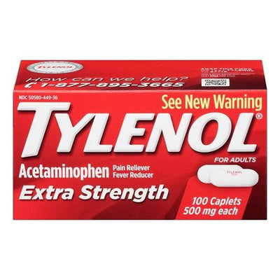 Tylenol Extra Strength Pain Reliever And Fever Reducer