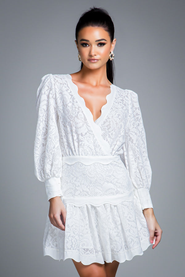 SOPHIA DRESS WHITE