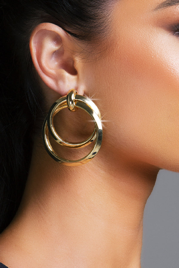 BENITO EARRINGS GOLD