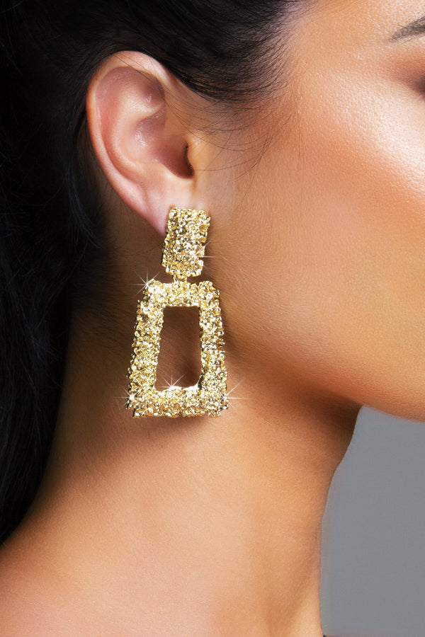 MALTA EARRINGS GOLD