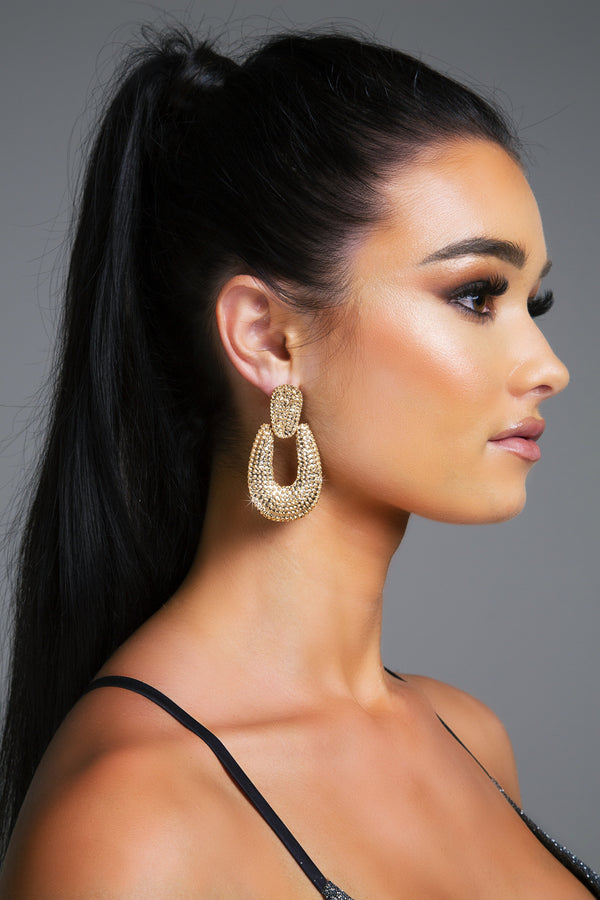 SILENE EARRINGS GOLD