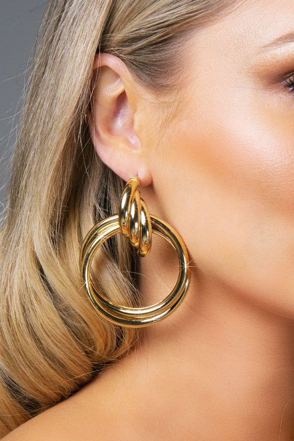 HEBE EARRINGS GOLD