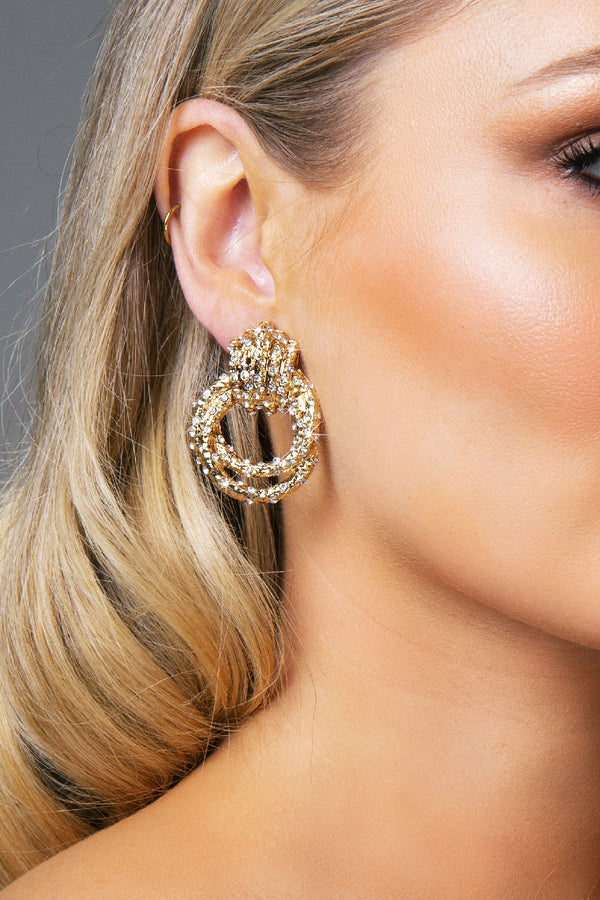 VIVIAN EARRINGS GOLD