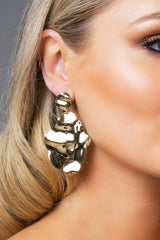 IBERIS EARRINGS GOLD