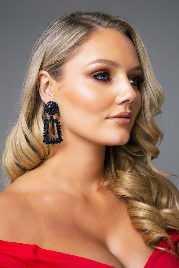 MIA EARRINGS BLACK