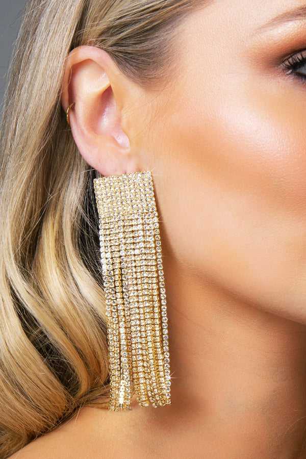 AVANTI EARRINGS GOLD