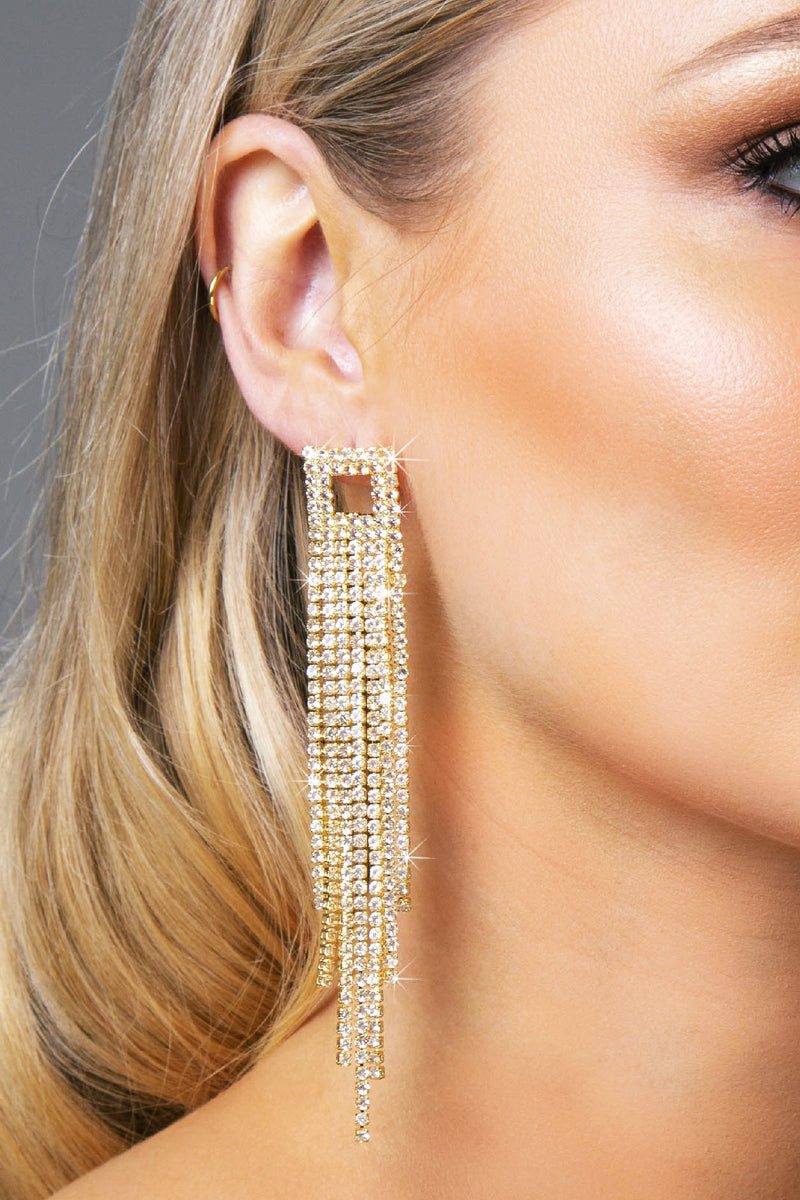SKYLAR EARRINGS GOLD