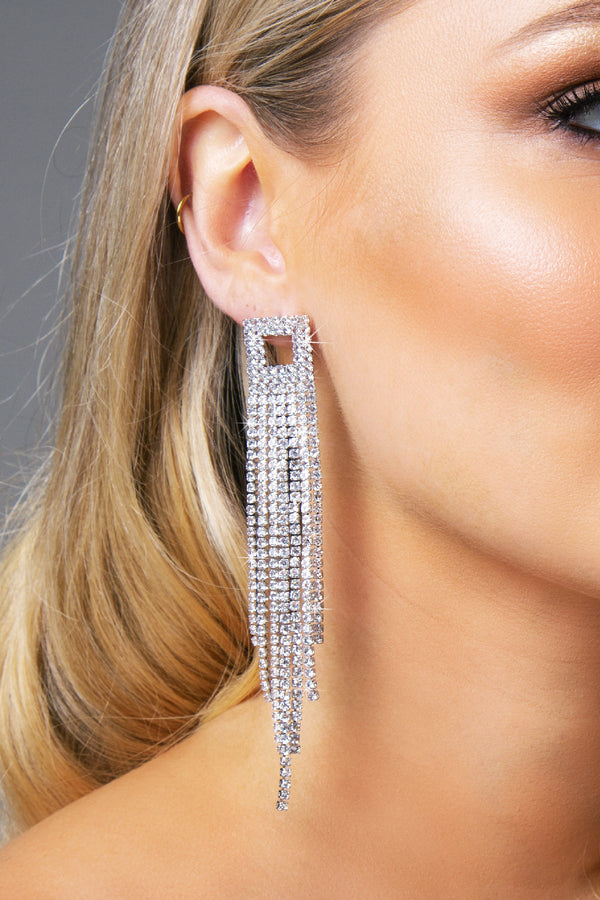 SKYLAR EARRINGS SILVER