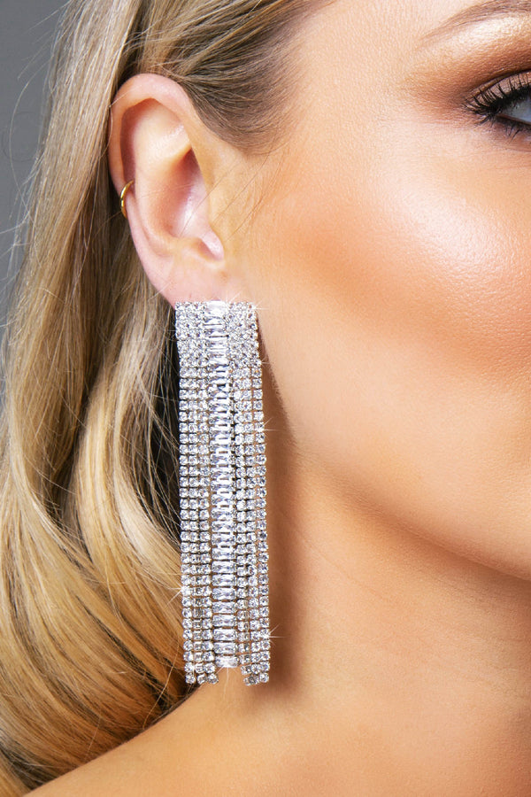 ZIRA EARRINGS SILVER