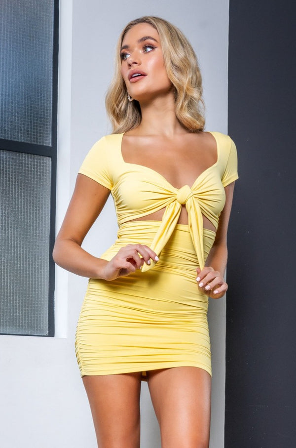 KYLIE DRESS YELLOW