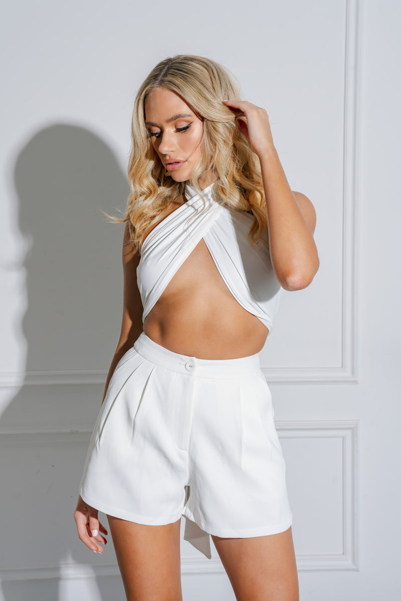 HAZEL TOP WHITE