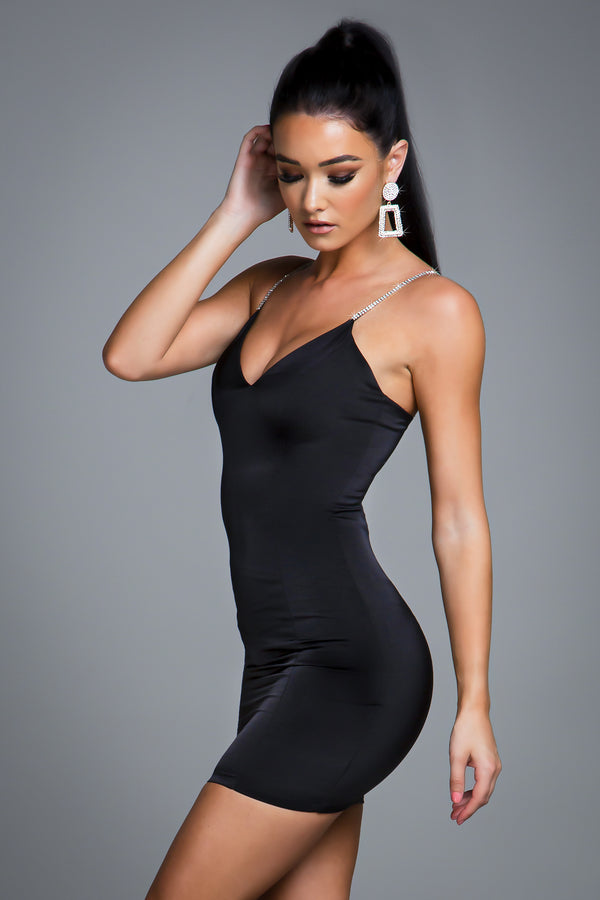 ARIA DRESS BLACK