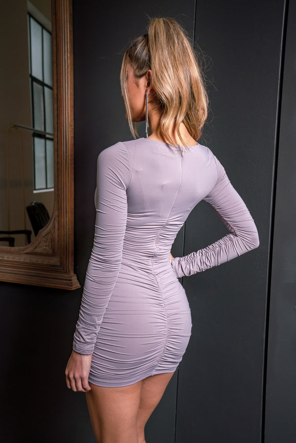 KENDALL DRESS GREY