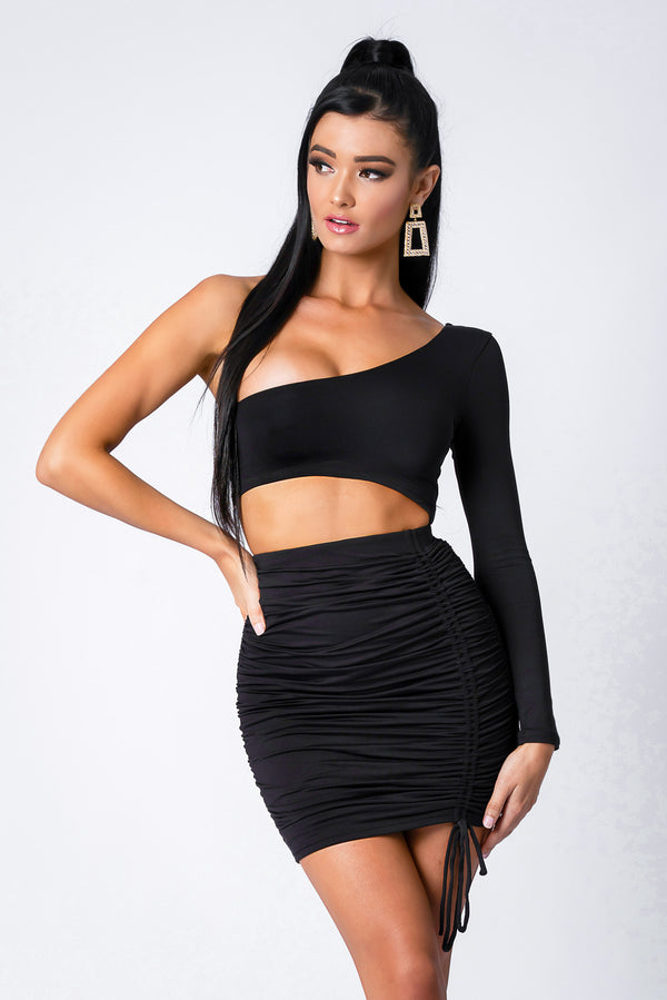 ORIANA DRESS BLACK