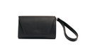 Mini Hybrid Vegan Clutch Bag - Black