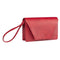 Hybrid Vegan Clutch Bag - Red