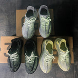 Same day shipping Yeezzy V2 running shoes popcorn sole