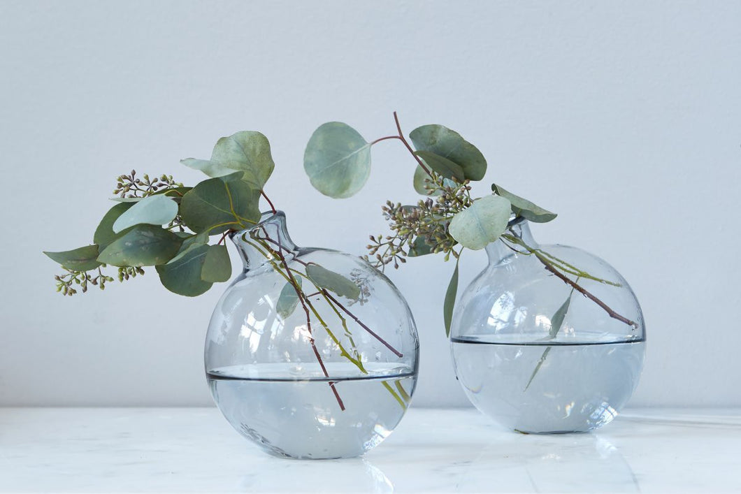 Smoke Sphere Vase, 5