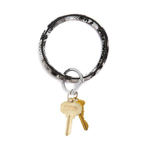 Big O Leather Key Ring
